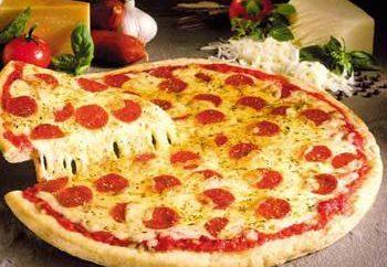 ricetta moderna per una deliziosa pizza