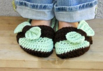 Come lavorare a maglia pantofole con le sue mani?