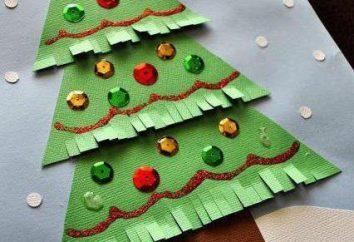 Bambini Cartolina di Natale con le proprie mani