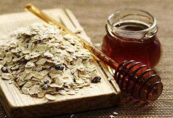 Haferflocken Cookies mit Honig: ein Rezept mit einem Foto