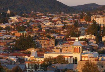 Vistas de Kutaisi: lugares mais interessantes, descrição