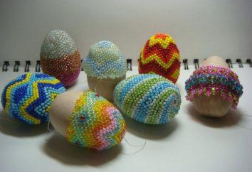 Cómo hacer cuentas de huevos de Pascua