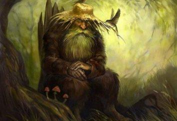 Mitycznych stworzeń starożytnych Słowian