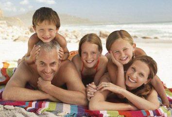 Férias em família na Rússia. Dia da família, do amor e do Fidelity