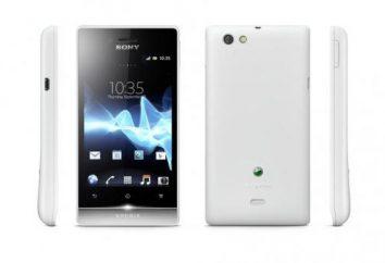 Smartphone Sony Xperia Miro: recensioni e caratteristiche