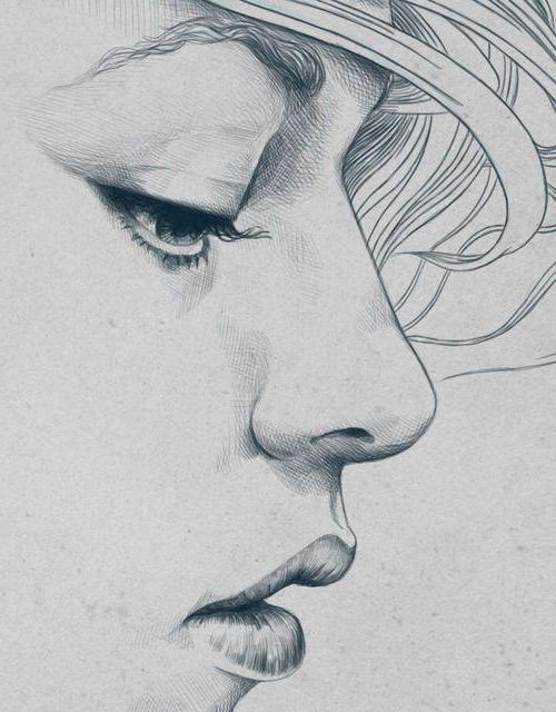 Amato Come disegnare un volto triste a matita: Istruzioni passo passo DZ94