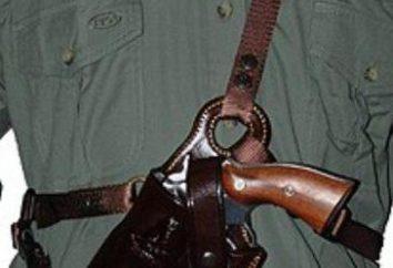 L'étui pour l'arme: le rendez-vous, photo. Holster pour pistolet caché PM transport