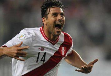 Das Leben und die Karriere des peruanischen Fußballspieler Claudio Pizarro: die interessantesten Fakten