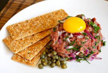 steak cru Tartare: Les meilleures recettes