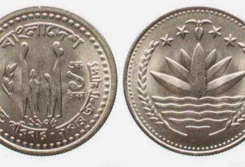 Valuta Bangladesh. Le origini del nome. Comparsa di banconote e monete