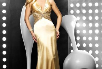 "vestito stupefacente ""Golden Sand"""
