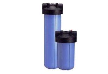 Filtry do oczyszczania wody z studni: ich wybór i zastosowanie.