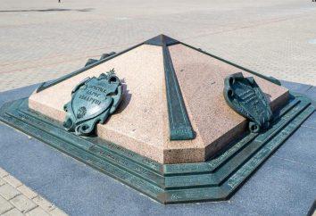 Le signe mémorial « Kilomètre Zéro du Bélarus »: l'histoire, la description et l'adresse des attractions
