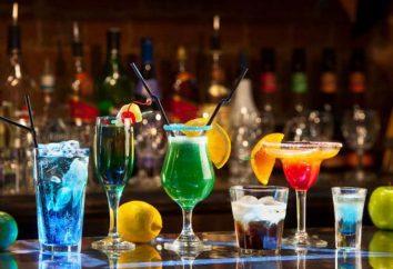 Koktajle alkoholowe: nazwy i skład