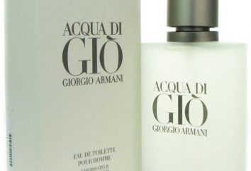 "Eau de toilette ""Acqua di Gio"" von ""Armani"": eine Überprüfung der"