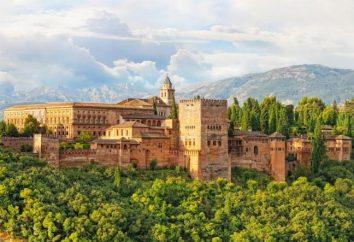 Granada, Alhambra – conjunto arquitetônico e de parque: descrição. Atrações em Espanha
