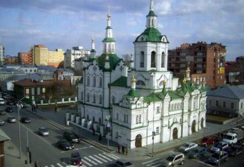 Chiesa del Salvatore (Tyumen): storia, descrizione