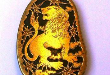 Co kamienie pasują Lions. Kamień na straży pożarnej