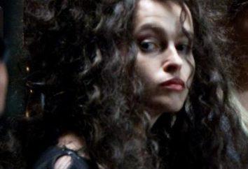 Bellatrix Lestrange aktorka. Najbardziej znaną rolą Helena Bonham Carter