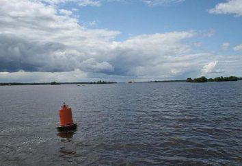 Rybinsk Reservoir: Freizeit und Angeln in dem Open-Air