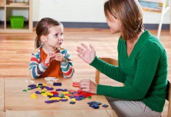Mowa zajęcia terapeutyczne dla dzieci 3-4 lat: Charakterystyka przenoszenia. Te dziecko 3-4 lat