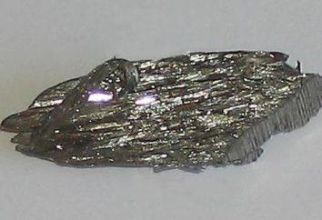 densidad de níquel y otras propiedades. mineral de níquel