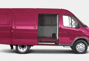 GAZ-2705 van cargo (tout en métal, 7 sièges): description, prix
