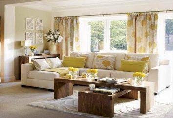 Decorazioni nella finestra del soggiorno. Il design moderno della finestra del salotto: le foto