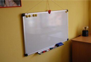quadro magnético na parede – um dispositivo universal para a colocação de informações