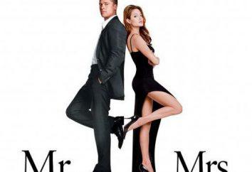 """Description de la parcelle, et le rôle des acteurs, « M. et Mme Smith. » Le film """"Mr. & Mrs. Smith (Mr. & Mrs. Smith)"""""""