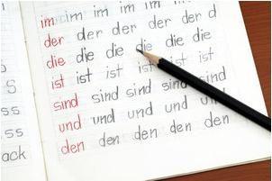 Possessivpronomen in der deutschen und der für ihn zuständigen Einsatz