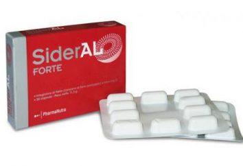 """suplement diety przeciw anemii – """"SIDERAL"""". Opinie konsumentów, instrukcje, Wskazania do stosowania"""