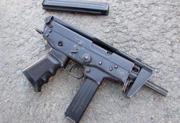 """Rosyjski pistolet maszynowy Pp-91 """"Kedr"""" to broń wręcz. Opis, historia i cechy charakterystyczne"""