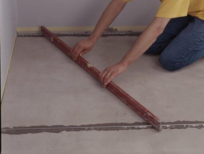 Come e come livellare il pavimento in calcestruzzo: tecnologie e ...