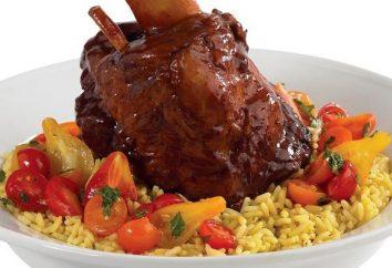 Come cuocere in forno Shank: ricetta