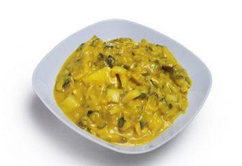 Ricetta aringhe in salsa di senape con le foto