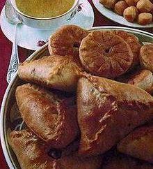Echpochmak – receita Bashkir cozinha