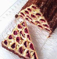 """Ciasto """"Drewno pod śniegiem"""": przepis"""