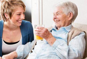 Opieki dla osób w podeszłym wieku do mieszkania. Opieki dla osób starszych z prawem do dziedziczenia własności