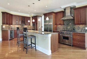 cocina equipada en diferentes tamaños: soluciones funcionales