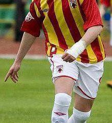 El delantero rumano Cristian Tudor