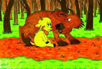 "Fable ""O lobo eo cordeiro"". Vamos falar sobre as obras de Esopo e Krylov"