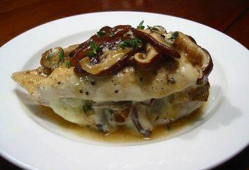 Receta: pechuga de pollo sabroso (al horno en el horno, a la parrilla)