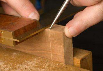 Outil de marquage sur le métal et le bois. Scriber, métal, étriers, banc d'angle