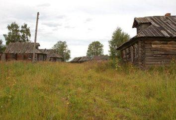 Villaggio abbandonato nei pressi di Mosca. Foto, Mappa