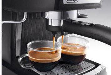 Café Delonghi EC 155: características técnicas. comentários proprietários