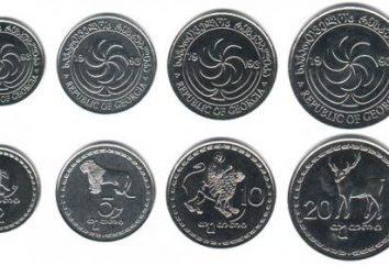 moeda georgiano: denominações de notas e taxa de câmbio contra as principais moedas do mundo