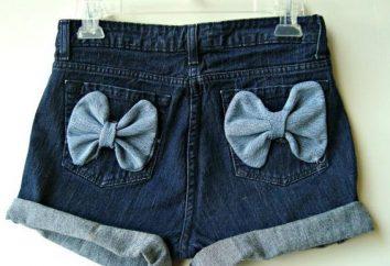 Mamy do wyboru, co dżinsy nosić dżinsowe szorty!