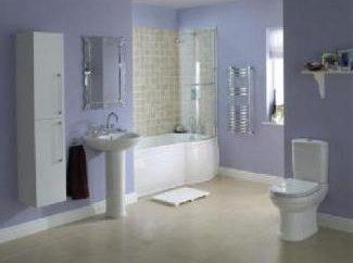Myślimy nad projektowaniu łazienki, pokój z toaletą