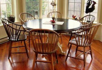 Der Tisch in der Küche – es ist das Zentrum. Treffen Sie die richtige Wahl!